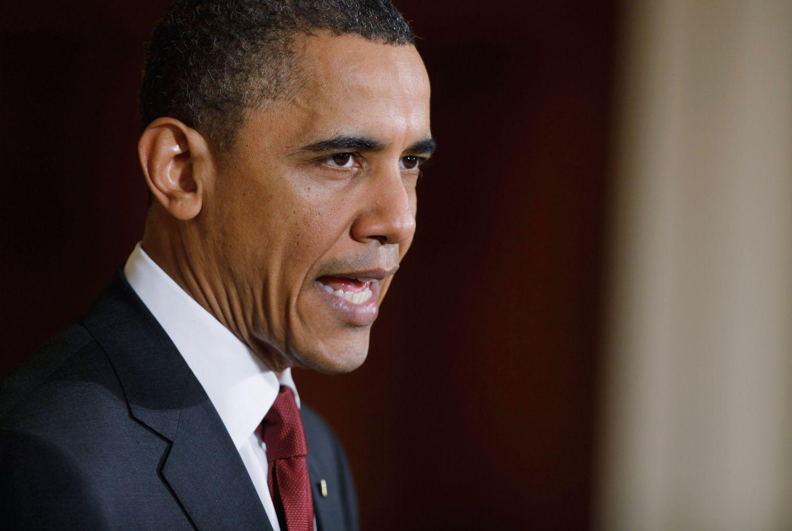 Obama / Libyen