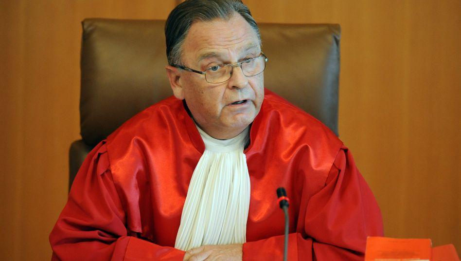 """Papier, der frühere Präsident des Bundesverfassungsgerichts: """"Keine Wahl mehr"""""""