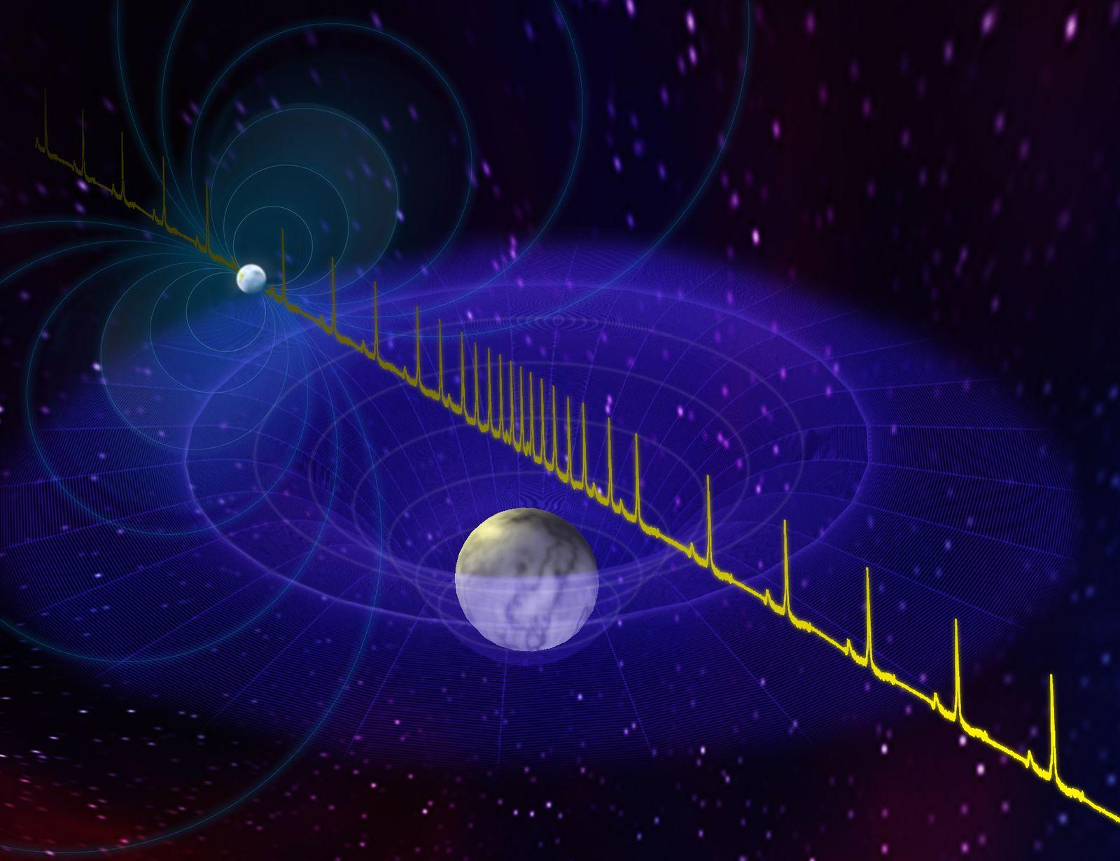 EINMALIGE VERWENDUNG Neutronenstern