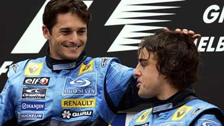 Grand Prix von Australien: Renault rast, Ferrari fährt hinterher