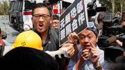 Zwei Abgeordnete der Opposition in Hongkong festgenommen
