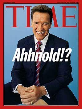 Schwarzenegger als Titelthema: Schlagzeilenträchtiger Wahlkampf