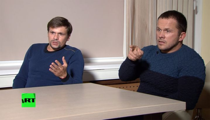Anatoliy Chepiga and Alexander Mishkin are the main suspects in the Salisbury poisonings.