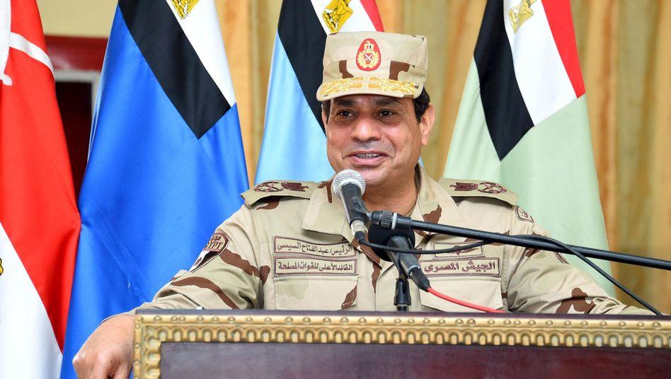 Ägyptens Staatschef Sisi: Seine Unterschrift fehlt noch
