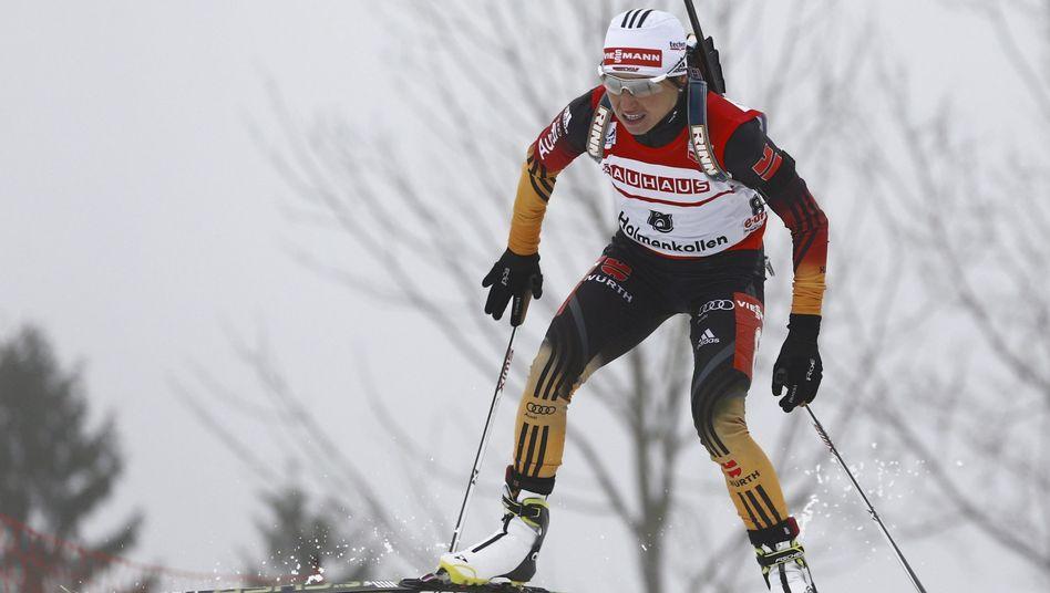 Biathletin Henkel: Im Sprint in Oslo ohne Siegchance