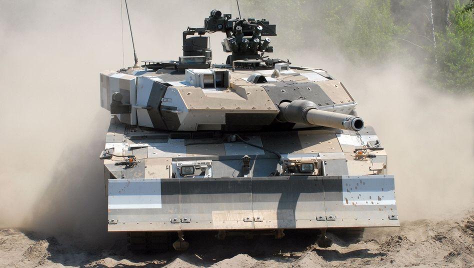 """""""Leopard 2""""-Kampfpanzer: Indonesien macht Geschäft mit Krauss-Maffei Wegmann"""