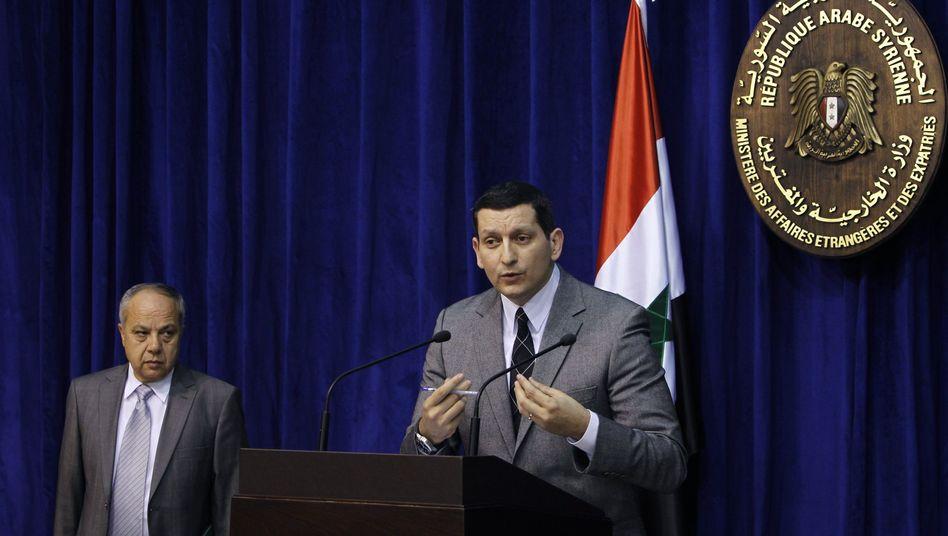 """Untersuchungskommission in Syrien: USA bezeichnen den Bericht als """"Lüge"""""""