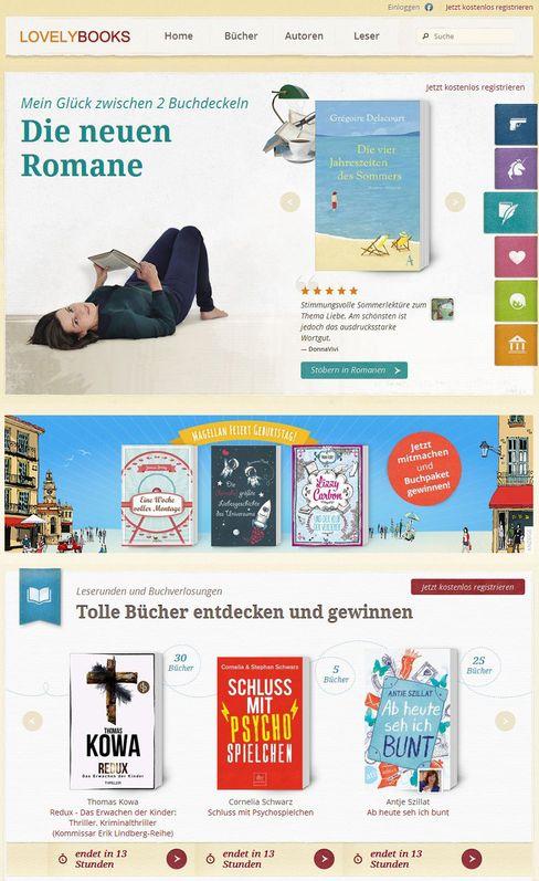 """""""Lovelybooks"""": bekannteste Plattform für Laienrezensionen"""