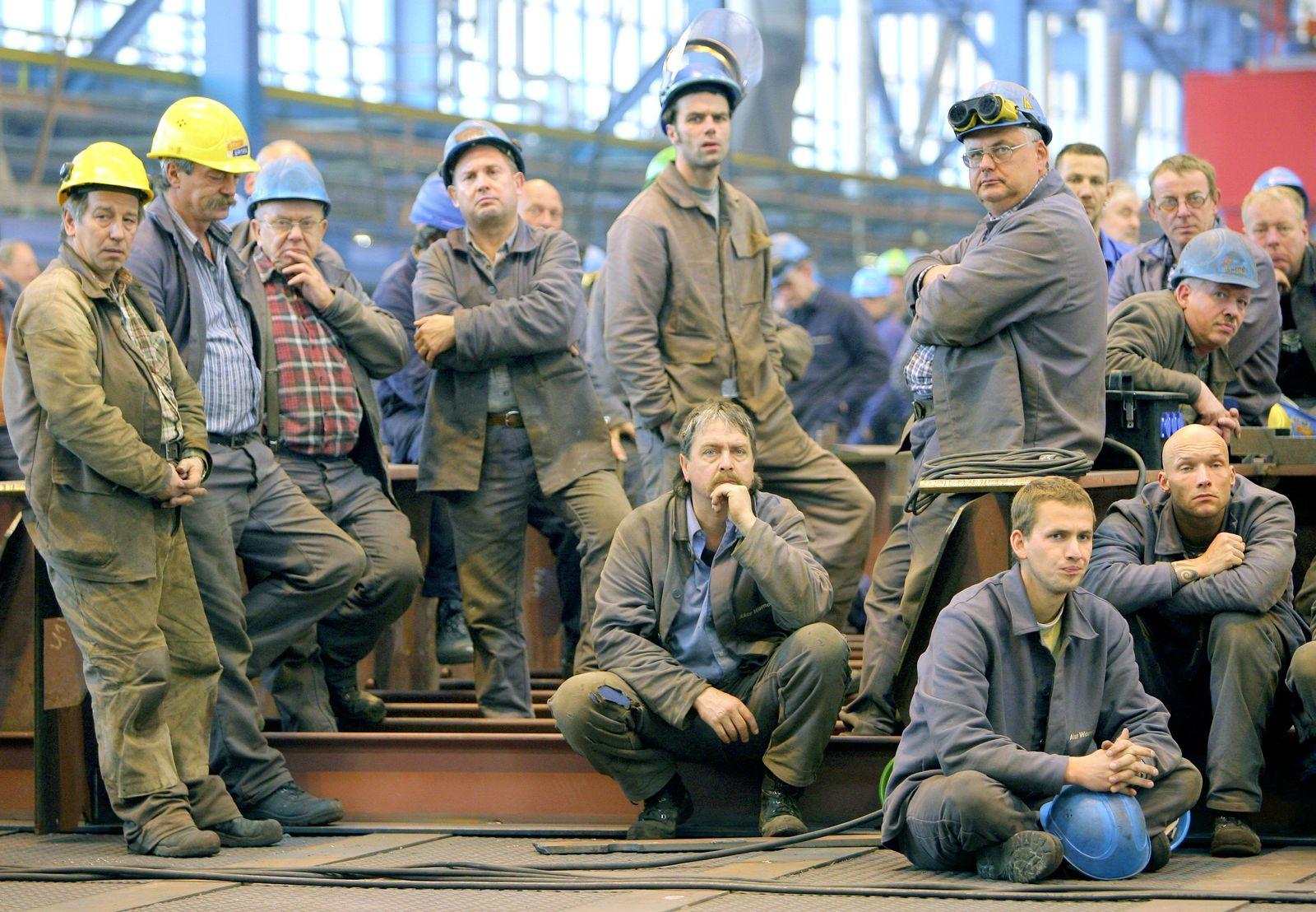 Werftarbeiter Aker-Werft