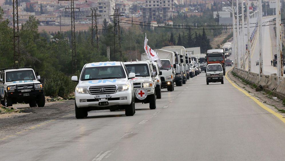 Belagertes Madaja: Hilfe für die eingeschlossene Stadt