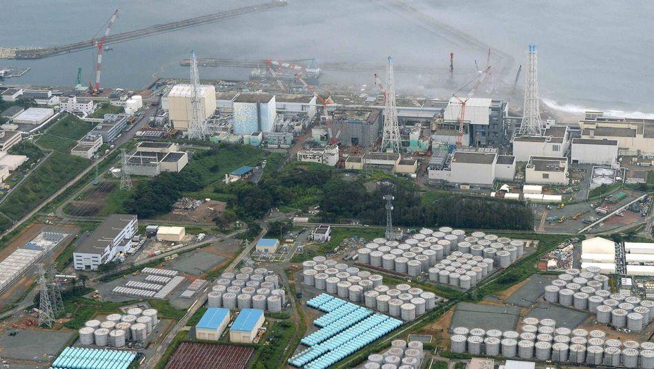 Luftbild von Fukushima: Betreiber Tepco macht satte Gewinne