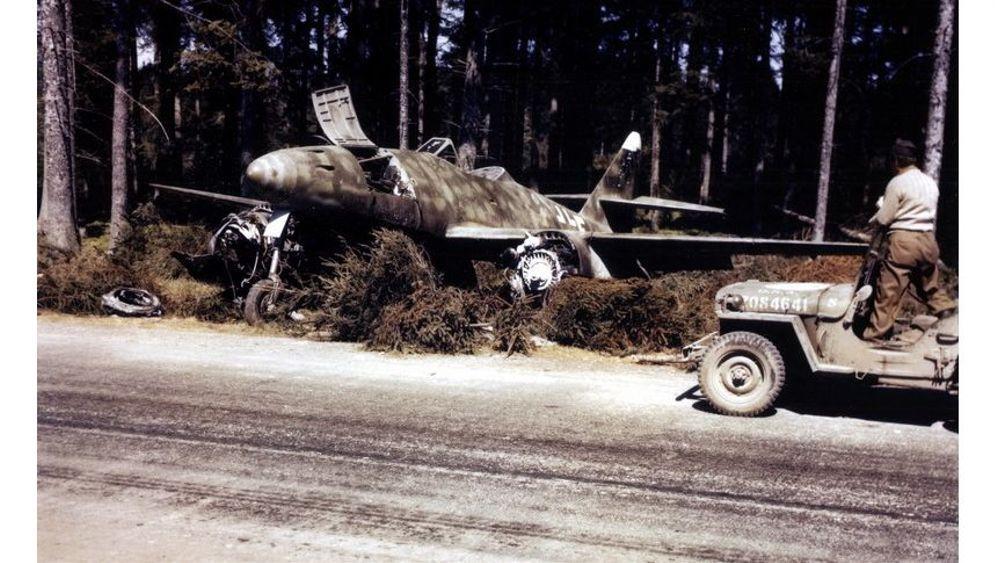 Hitlers geheime Flugzeugfabriken: Düsenjäger im Dickicht