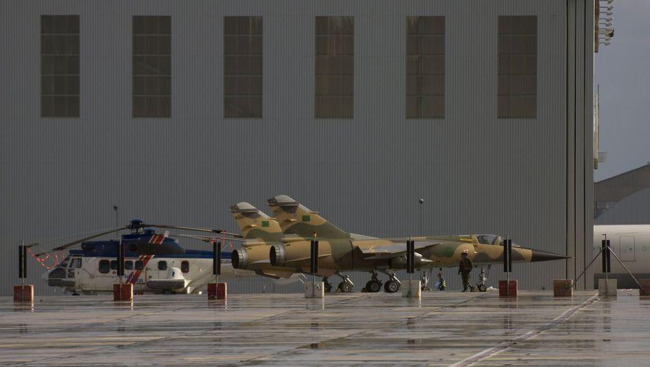 Libysches Mirage-Flugzeug: Gut ausgebildet und bestens ausgerüstet