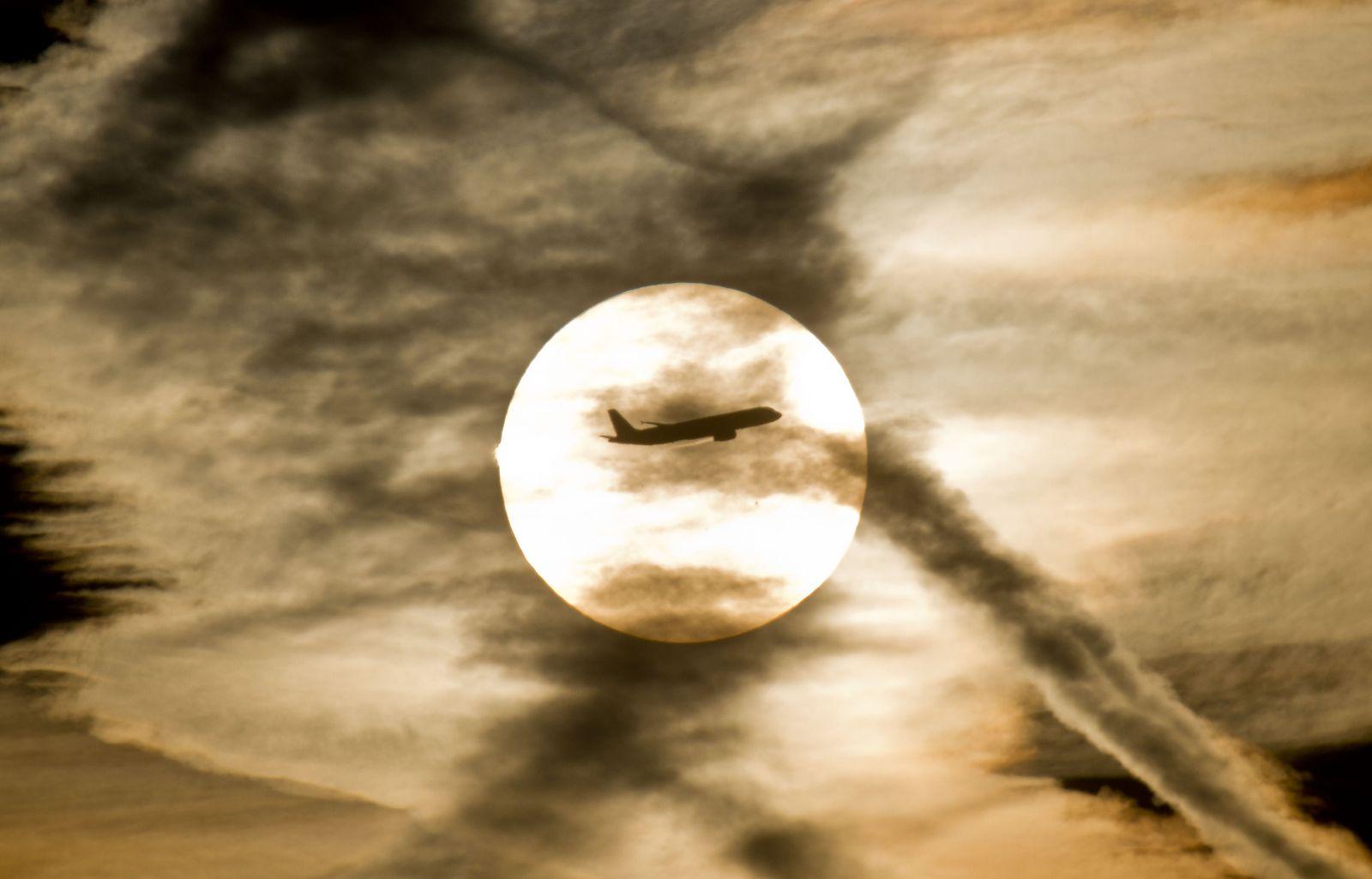 Studie Klimawandel / Luftverkehr / Turbulenzen