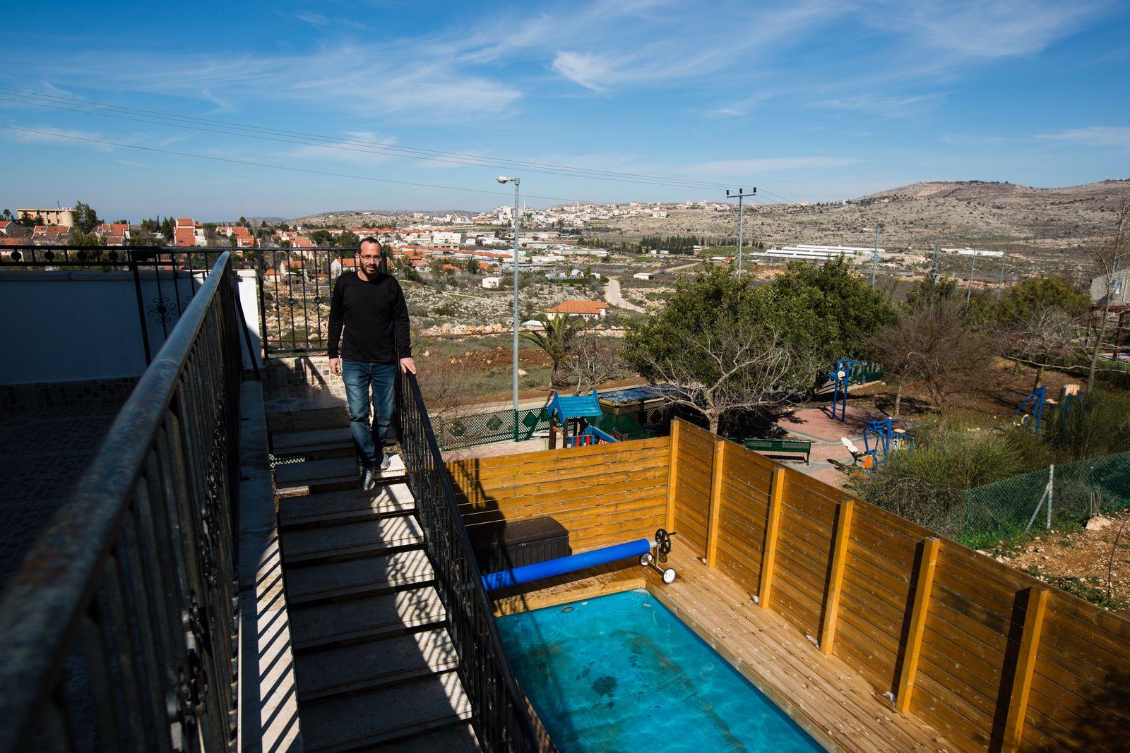 EINMALIGE VERWENDUNG Westjordanland/ Israel/ Airbnb
