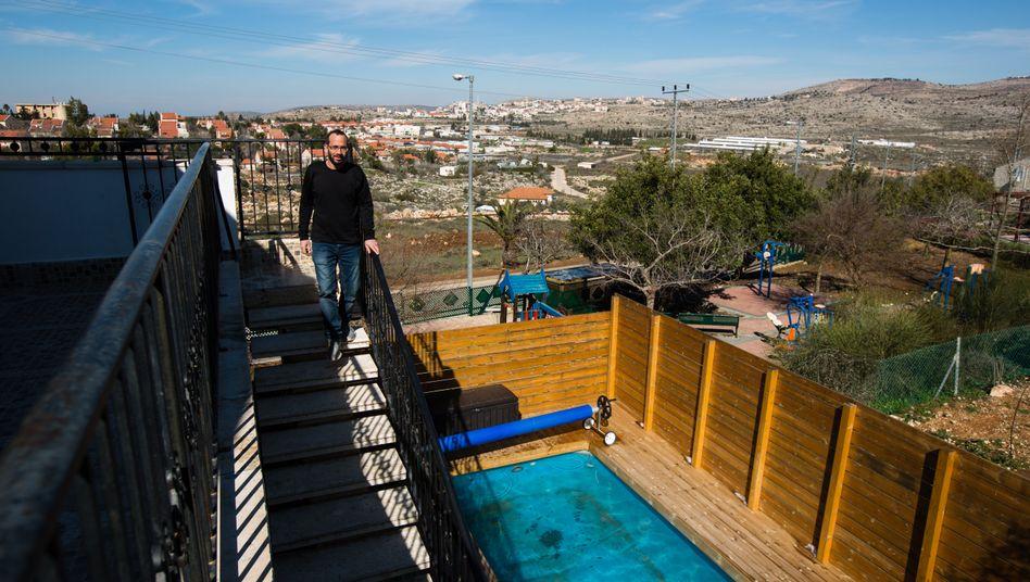Airbnb-Gastgeber in der jüdischen Siedlung Ofra (Archivfoto)