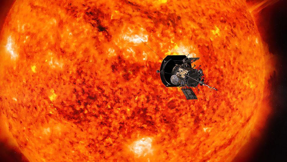 Die Nasa-Raumsonde muss Temperaturen von über tausend Grad standhalten