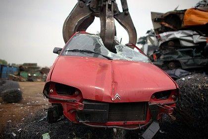 Schrottplatz für Altautos: Prämie bald aufgebraucht