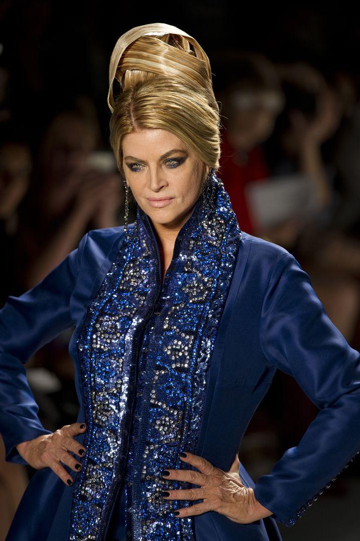 Kirstie Alley auf New Yorker Fashion Week: Der ewige Kampf gegen die Pfunde