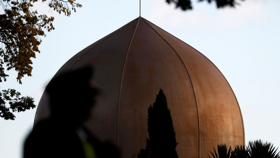 """Al-Noor-Moschee in Christchurch - """"abscheuliche"""" Drohung im Internet verbreitet"""