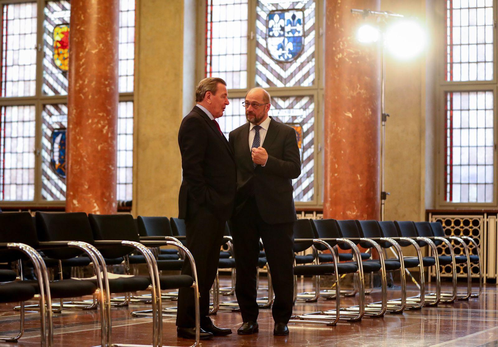 Gerhard Schröder / Martin Schulz