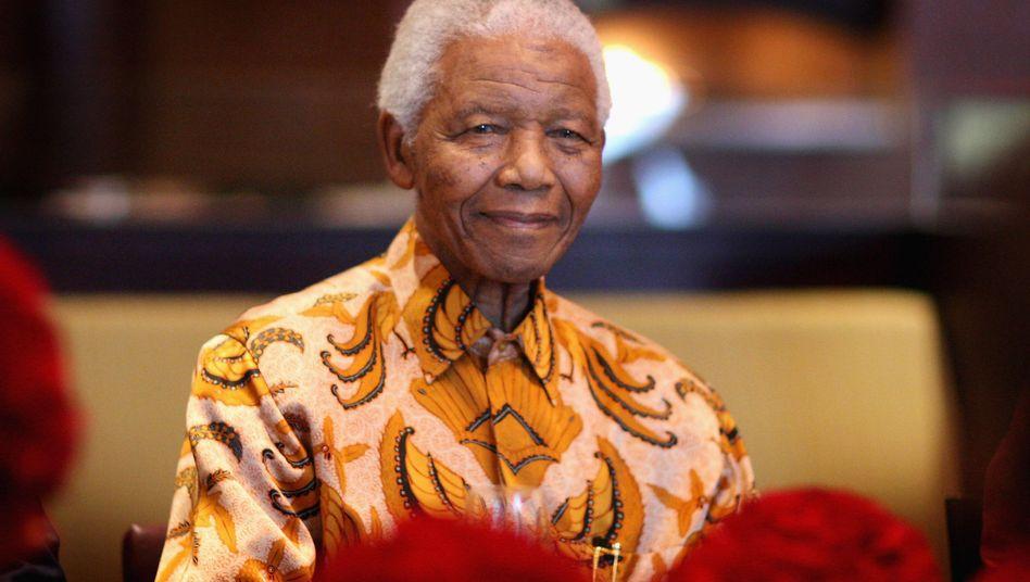 Nelson Mandela 2009 in Südafrika
