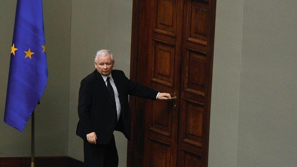PiS-Parteichef Kaczyński Sinistre Mächte