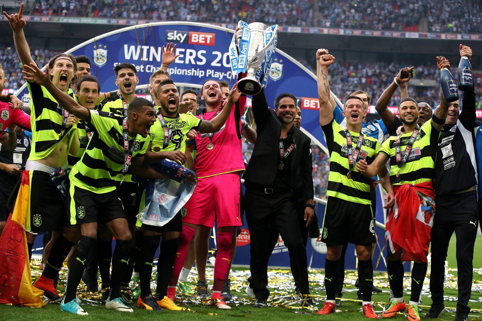 EINMALIGE VERWENDUNG Huddersfield Town