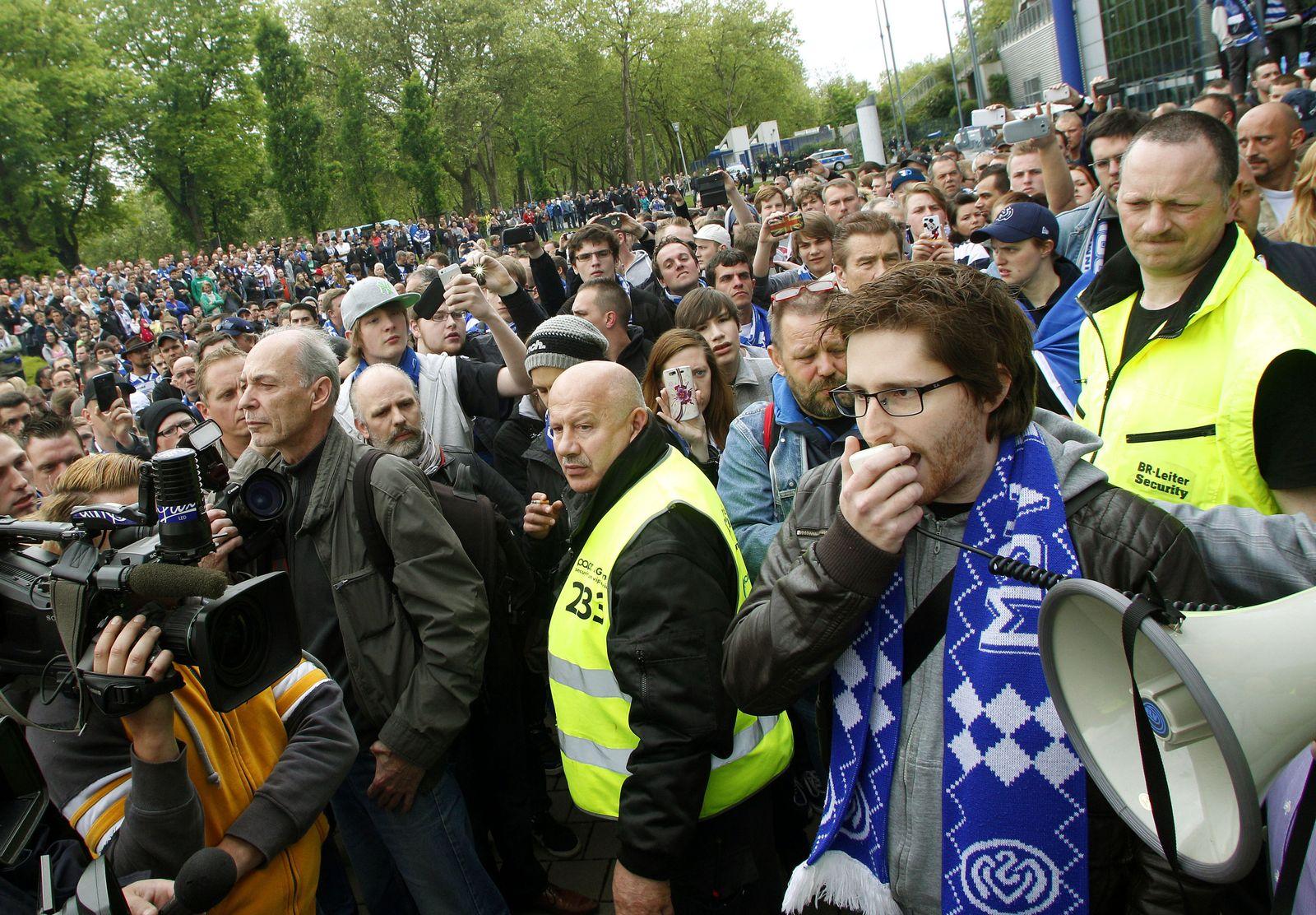 Fanproteste MSV Duisburg