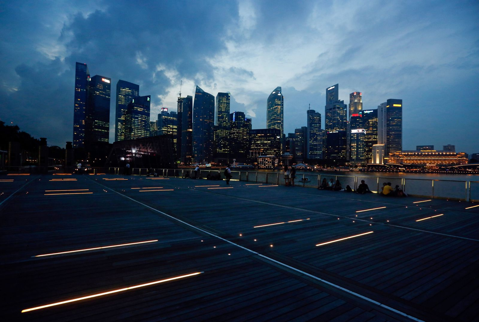 Singapur / Skyline