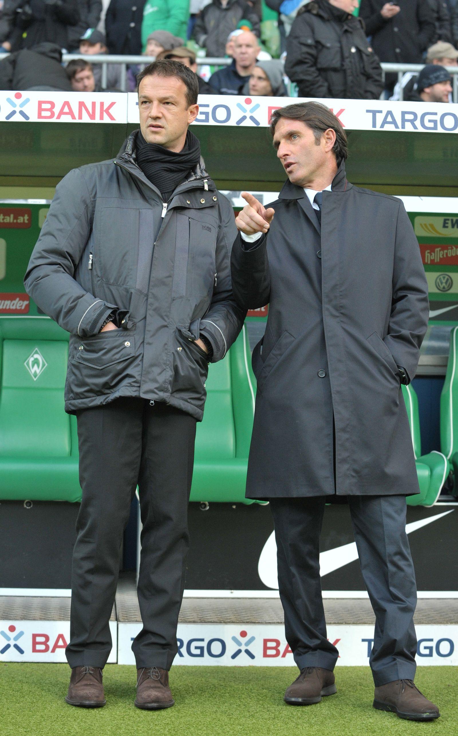 Fredi Bobic und Bruno Labbadia