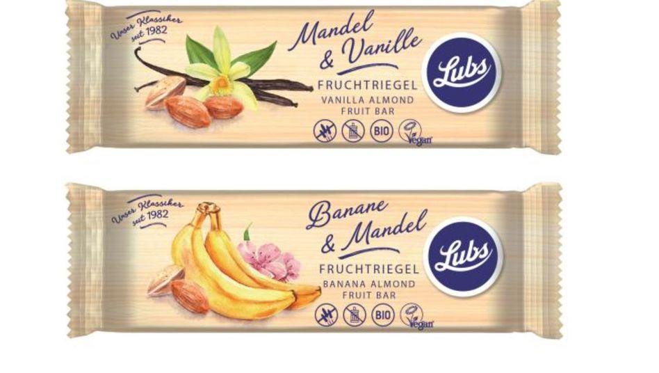 Fruchtriegel: Die Firma Lubs ruft die Produkte wegen Schimmelpilzgefahr zurück
