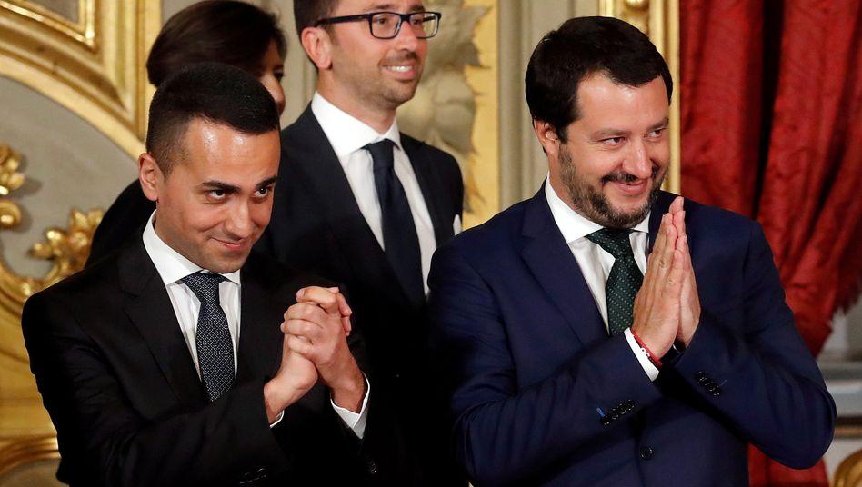 Matteo Salvini, Innenminister und Lega-Chef