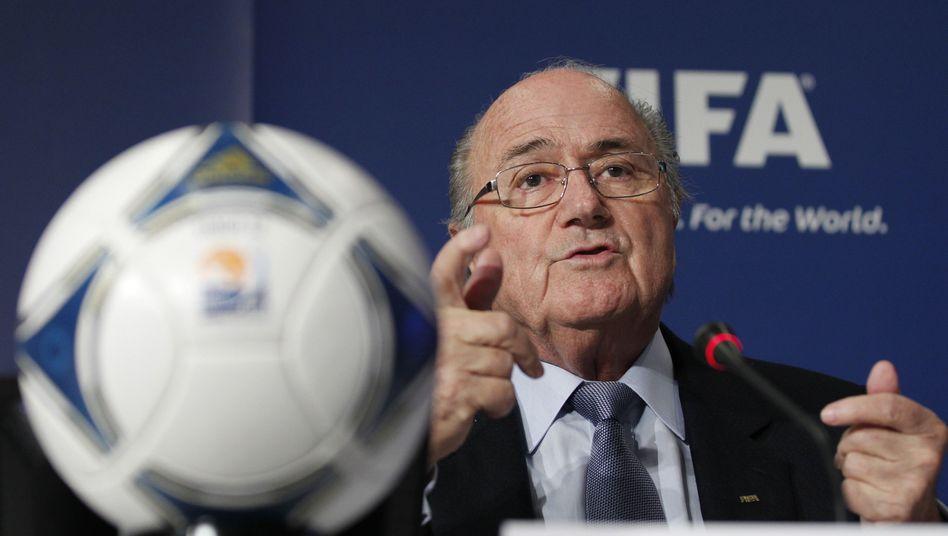 Fifa-Boss Blatter: Im Machtkampf gegen den Schweizer Verband durchgesetzt
