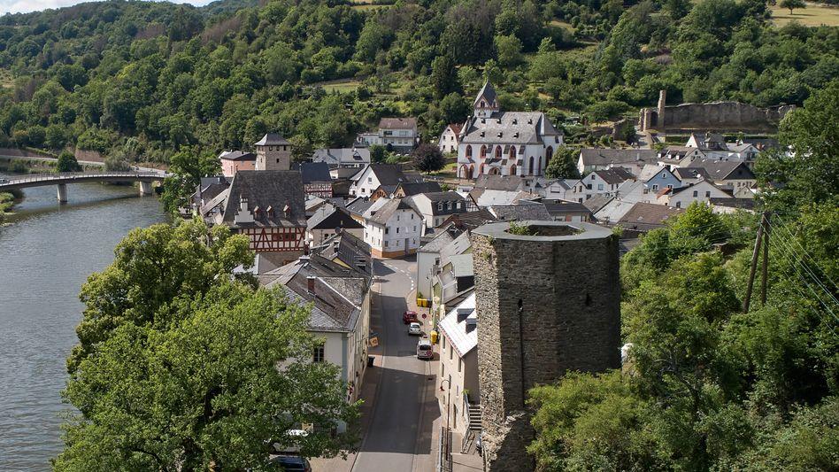 Der Schiefe Turm von Dausenau: 5,22 Grad Neigung