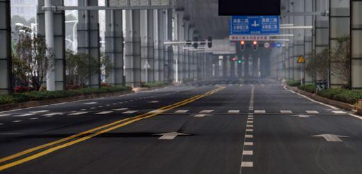 Coronavirus: Chinesische Metropole Wuhan stoppt Autoverkehr