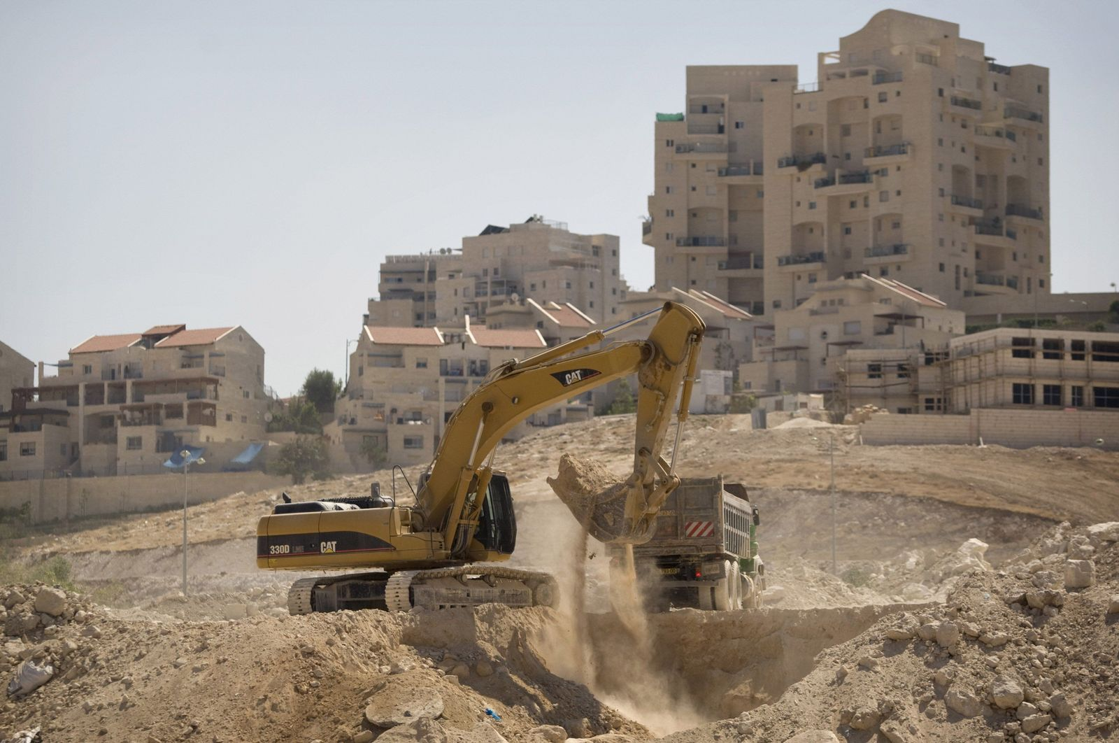 Israel / Siedlungsbau