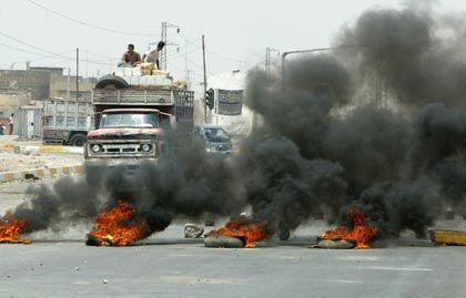 Gewalttätige Auseinandersetzungen in Basra