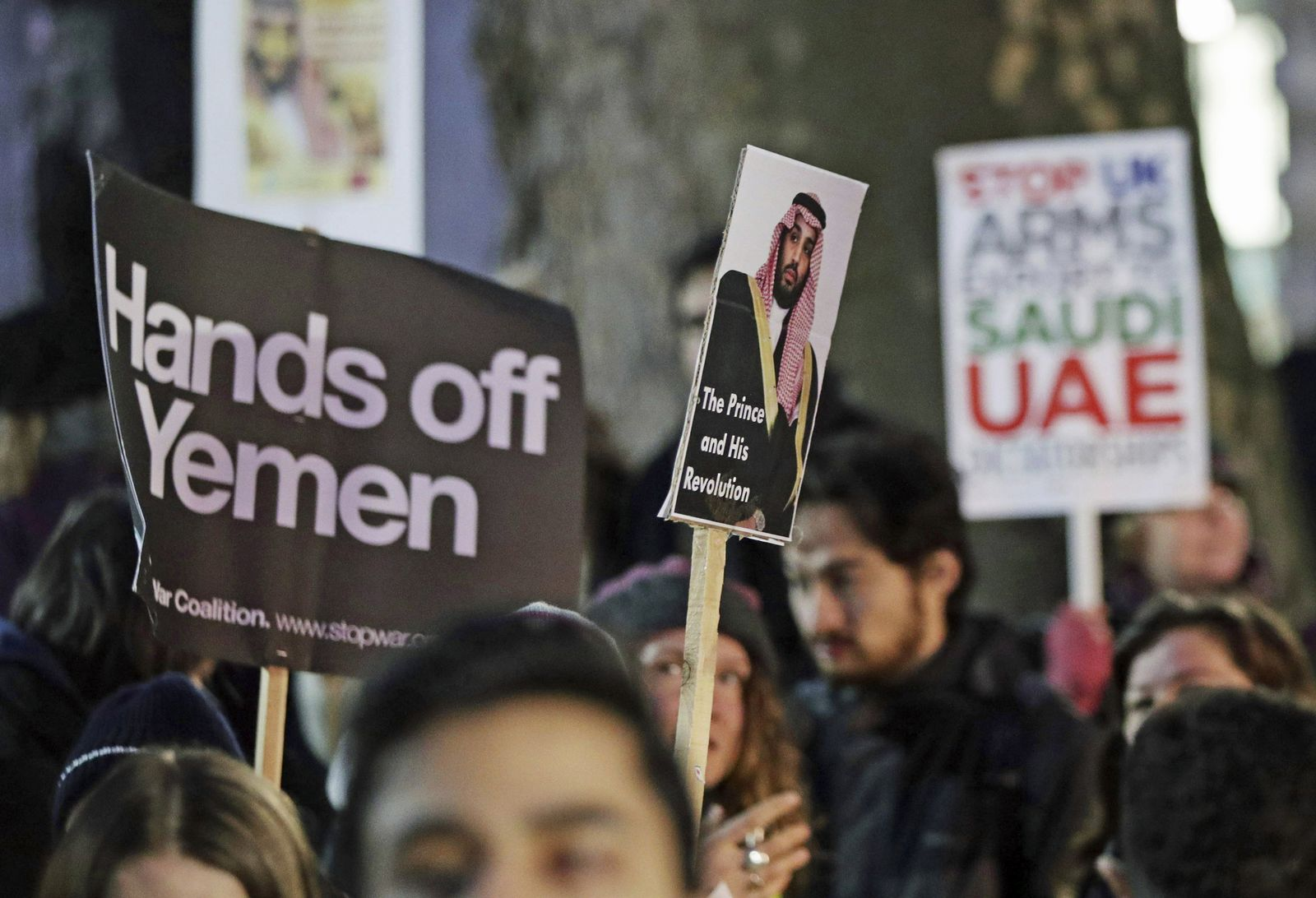 Britain Saudi Arabia