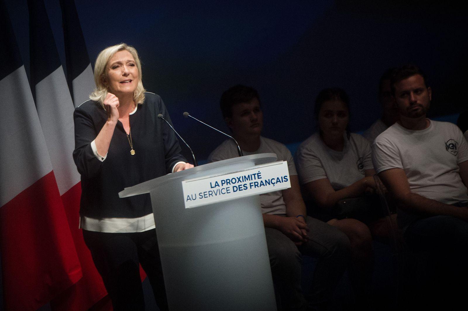FRANCE-POLITICS-PARTIES-RN