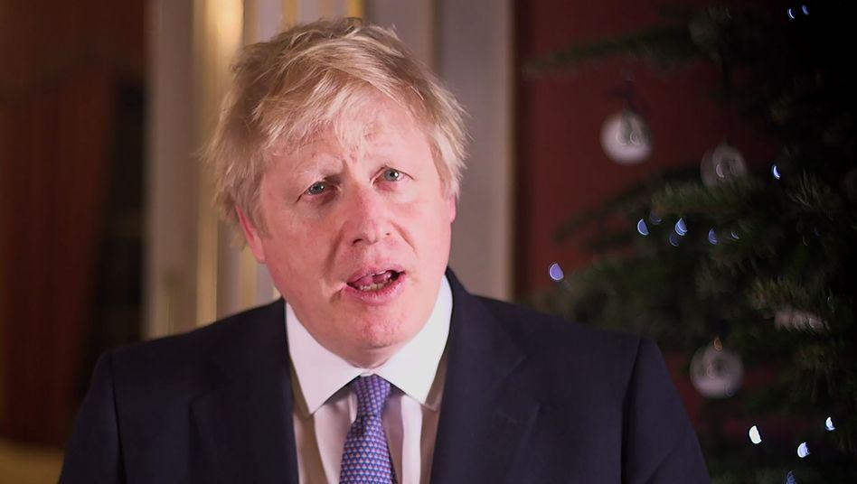 Blickt angeblich voller Vorfreude in die Zukunft: Boris Johnson