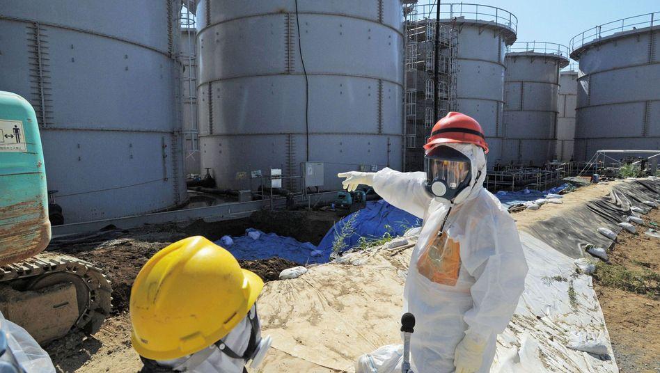Radioaktivität: ExtremeStrahlung an Fukushima-Wassertank gemessen