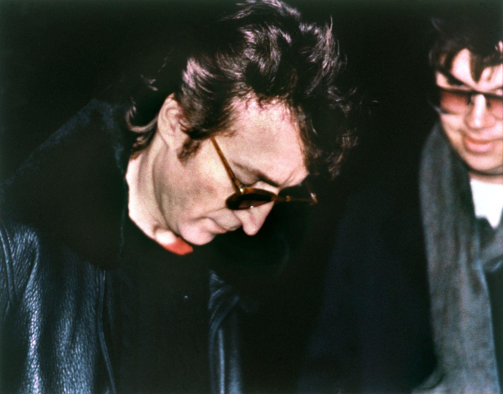 John Lennon und David Chapmann