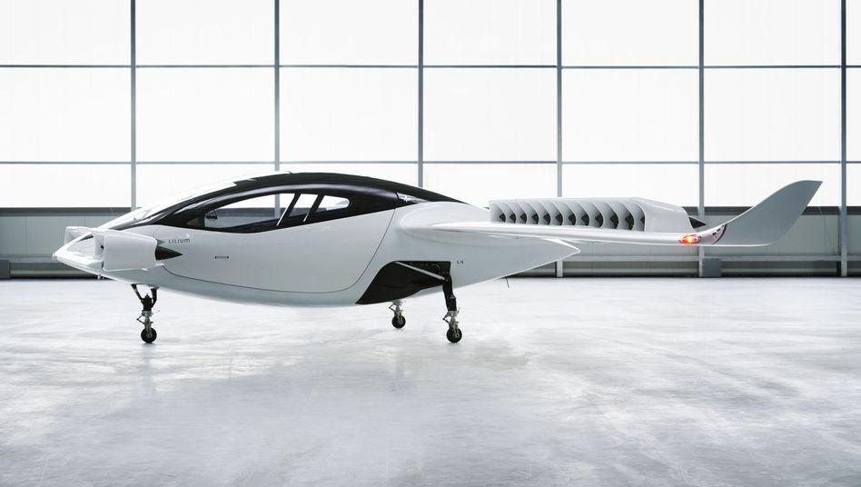"""""""Lilium Jet"""": Der Hersteller will das Fluggerät ab 2025 im kommerziellen Einsatz haben"""