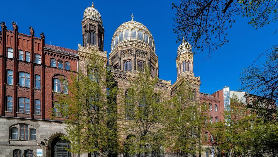 """Neue Synagoge in Berlin: """"Ein großes Kompliment für unser Land"""", dass die Gründungszeit heute unendlich weit weg erscheint"""