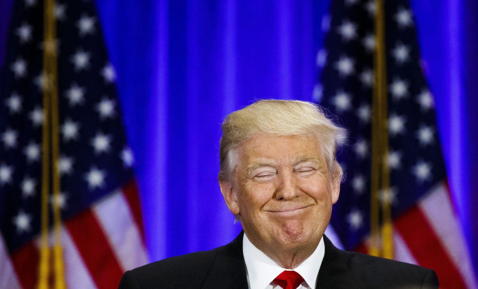 Trump US-Dollar Wahlkampfkasse