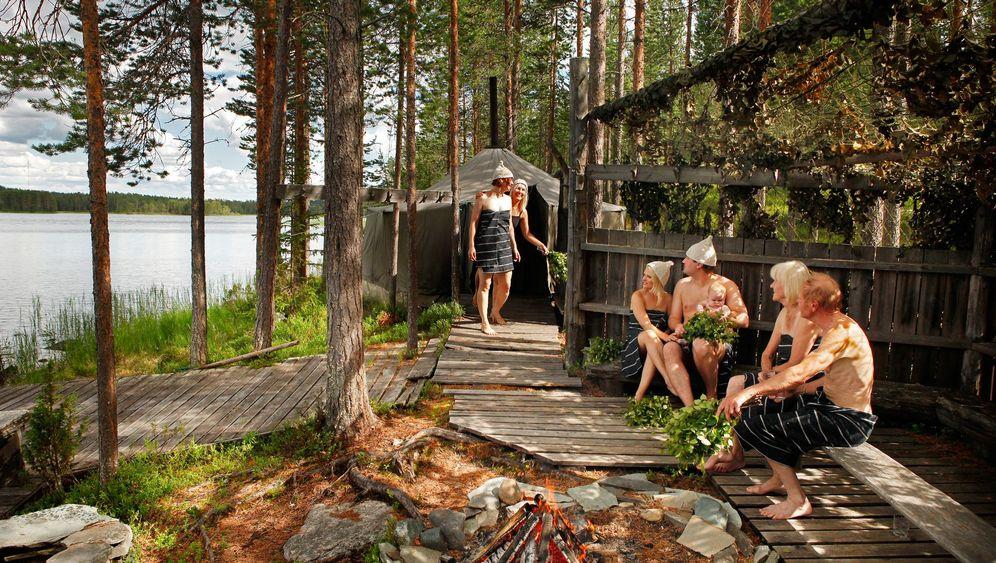 Demokratisch schwitzen: Wie die Finnen saunieren