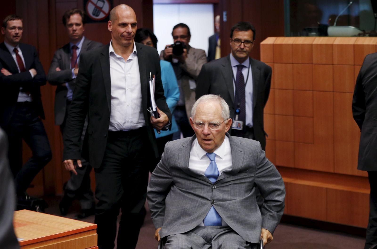 Varoufakis / Schäuble