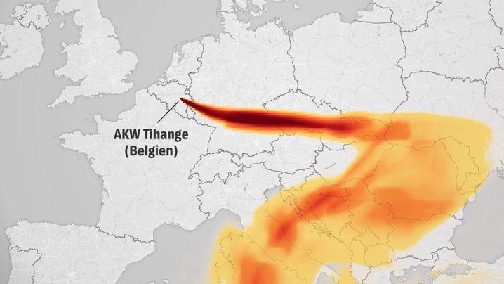 GAU-Simulation: Wie das Wetter die Strahlungsausbreitung beeinflussen würde