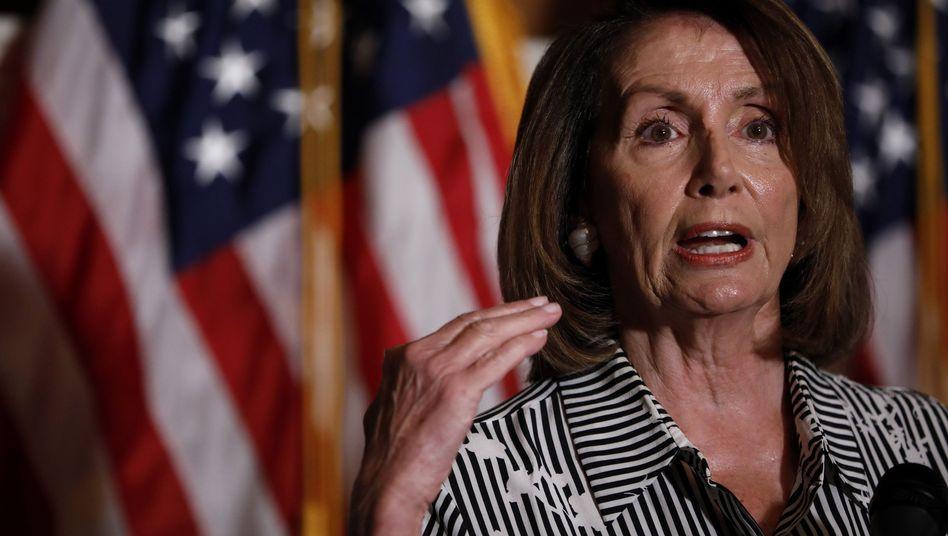 Chefin der Demokraten im Repräsentantenhaus, Nancy Pelosi